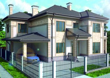 Наружная отделка домов в Крыму